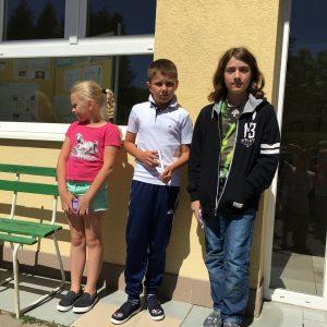 Uspešní riešitelia súťaže Matematický klokan